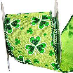 St. Patrick's Linen Delight Wire Edge