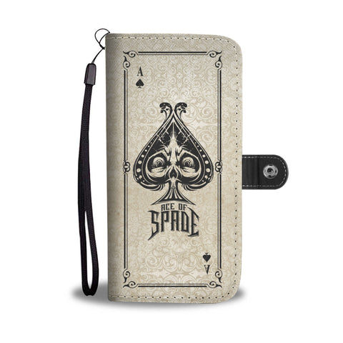 Ace of Spade Wallet Phone Case