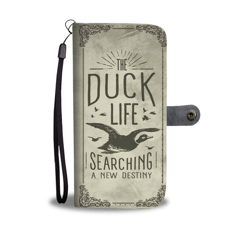The Duck Life Searching A New Destiny Wallet Phone Case
