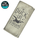 The Duck Life Searching New Destiny Women's Clutch Purse Wallet