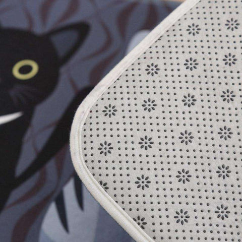 Cat Floor Mats Anti-Slip