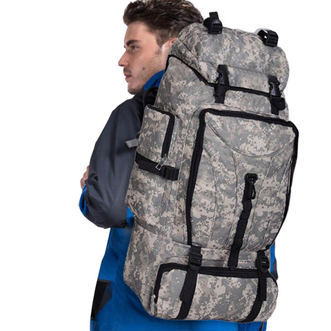 70L Men Camping Waterproof Travel Military Army Bags