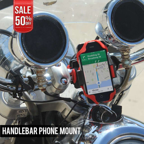 Motorcycle and Bike Phone Holder