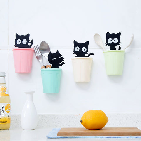 Cute Cat Cartoon Multi-Function Organizer