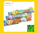 Fish design Interactive Crackle Fancy Catnip Toy