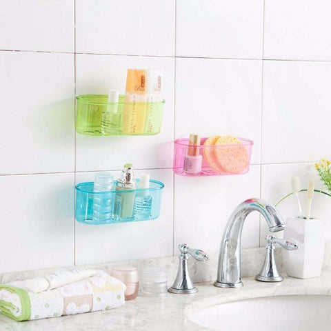 Suction Wall Hanging Kitchen Organizer