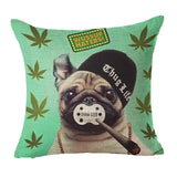 Funny Pug  Cushion Cover