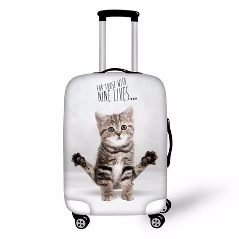 For Those With Nine Lives Luggage Cover