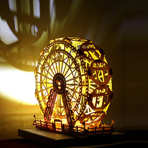 Paper Carving DIY Greeting Card - Ferris Wheel - Arts & Entertainment - Party & Celebration - Gift Giving - Greeting & Note Cards - PlayAge