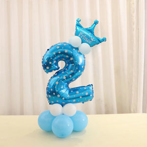 Party Essentials - Birthday Number Balloon Set - Arts & Entertainment - Party & Celebration - Party Supplies - Balloon Kits - PlayAge