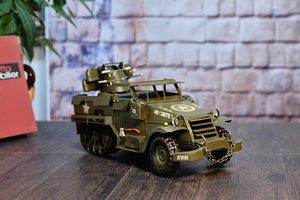 Large Scale Full-Iron Handmade Model Car - Military WWII US M2 Half Truck Car - Arts & Entertainment - Hobbies & Creative Arts - Collectibles - Scale Models - PlayAge