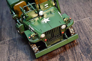 Large Scale Full-Iron Handmade Model Car - Military WWII US Army Willys MB - Arts & Entertainment - Hobbies & Creative Arts - Collectibles - Scale Models - PlayAge