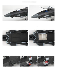 1:48 Unique PLAAF Model Plane - Military China 2010s J-20 - Arts & Entertainment - Hobbies & Creative Arts - Collectibles - Scale Models - PlayAge