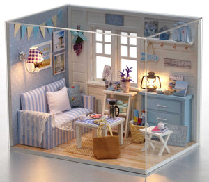 DIY Dollhouse - Fresh Sunshine - Toys & Games - Toys - Dolls, Playsets & Toy Figures - Dollhouses - PlayAge