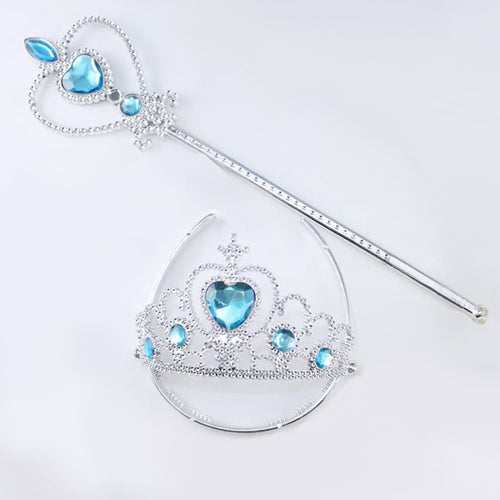 Princess Costume - Princess Crown and Scepter Set