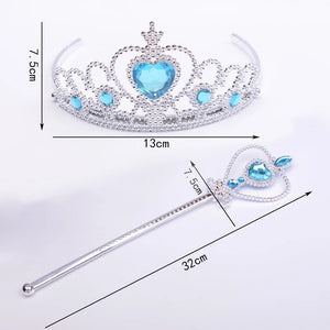 Princess Costume - Princess Crown and Scepter Set - Apparel & Accessories - Clothing Activewear - Dance Dresses, Skirts & Costumes - PlayAge