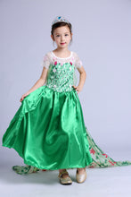 Princess Costume - Green Gown Skirt Elsa Frozen Fever Dress - Apparel & Accessories - Clothing Activewear - Dance Dresses, Skirts & Costumes - PlayAge