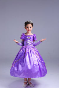 Princess Costume - Violet Bubble Gown Skirt Rapunzel Dress - Apparel & Accessories - Clothing Activewear - Dance Dresses, Skirts & Costumes - PlayAge