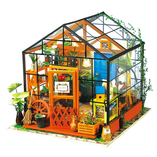 DIY Dollhouse - Cathy's Flower House - Toys & Games - Toys - Dolls, Playsets & Toy Figures - Dollhouses - PlayAge