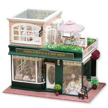 DIY Dollhouse - Paris Coffee and Cake Shop - Toys & Games - Toys - Dolls, Playsets & Toy Figures - Dollhouses - PlayAge