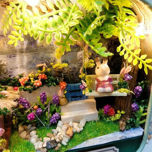 DIY Dollhouse - Box Theater - Days in the Countryside - Toys & Games - Toys - Dolls, Playsets & Toy Figures - Dollhouses - PlayAge