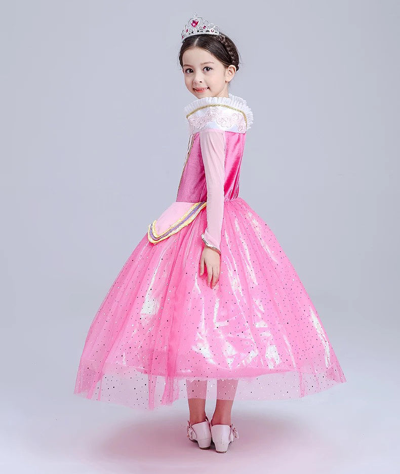 ... Princess Costume - Barbie Pink Long Sleeve Bubble Gown Skirt Aurora Dress - Apparel u0026 Accessories ...  sc 1 st  PlayAge & Princess Costume - Barbie Pink Long Sleeve Bubble Gown Skirt Aurora ...