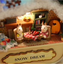 DIY Dollhouse - Box Theater - Snow Dream - Toys & Games - Toys - Dolls, Playsets & Toy Figures - Dollhouses - PlayAge