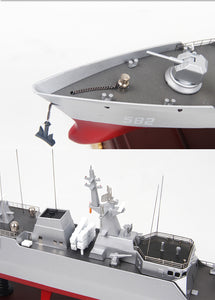 1:250 Unique PLAN Model Ship - Military China 2010s Type 056 Corvette - Arts & Entertainment - Hobbies & Creative Arts - Collectibles - Scale Models - PlayAge