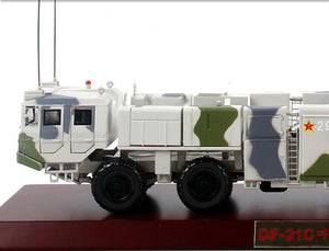 1:35 Unique PLA Model Car - Military China 1990s DF-21 Guided Missile and Missile Truck