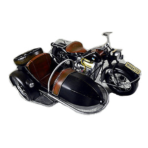 Large Scale Full-Iron Handmade Model Car - Classic Motorcycle BMW 1950s R50 - Arts & Entertainment - Hobbies & Creative Arts - Collectibles - Scale Models - PlayAge