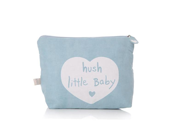 Blue Hush Baby Wash Bag