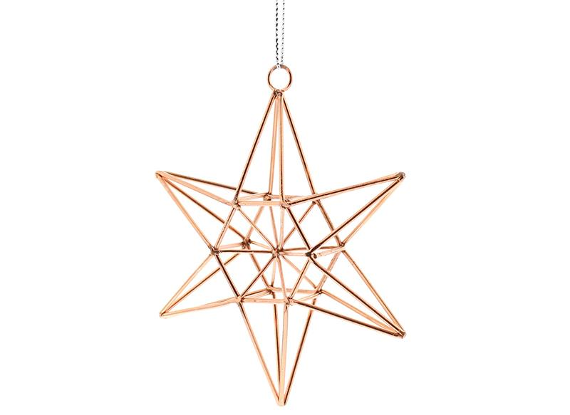 Rose-Gold-Wire-Star