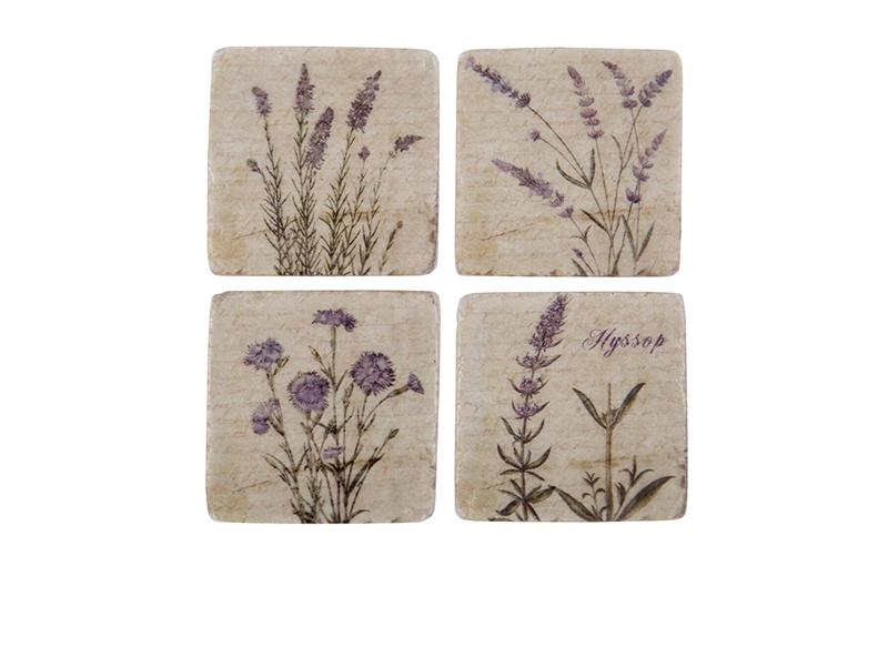 Wild-Flower-Coasters-Set-of-4