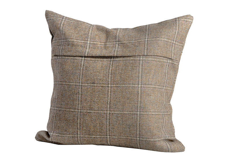 Barn Owl Yorkshire Tweed Cushion Cover