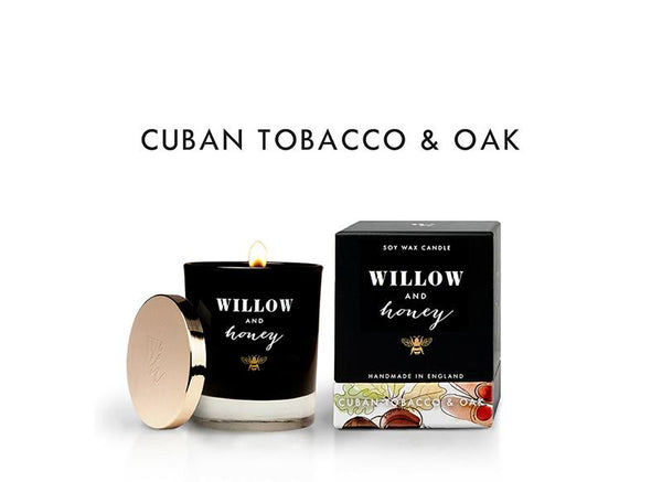 Tobacco and Oak Scented Candle