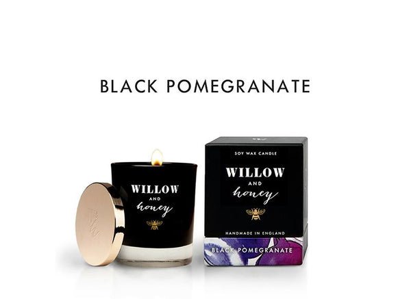 Black Pomegranate Scented Candle
