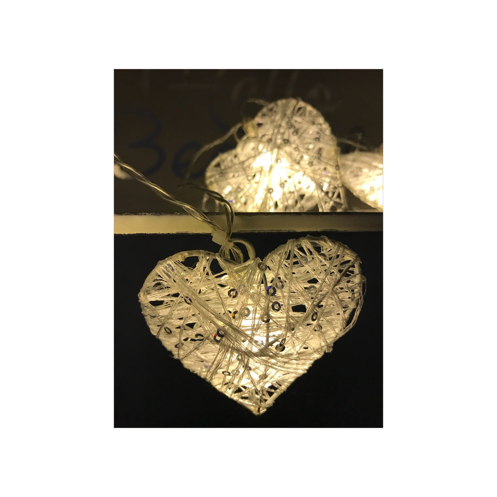 Heart String Fairy Lights