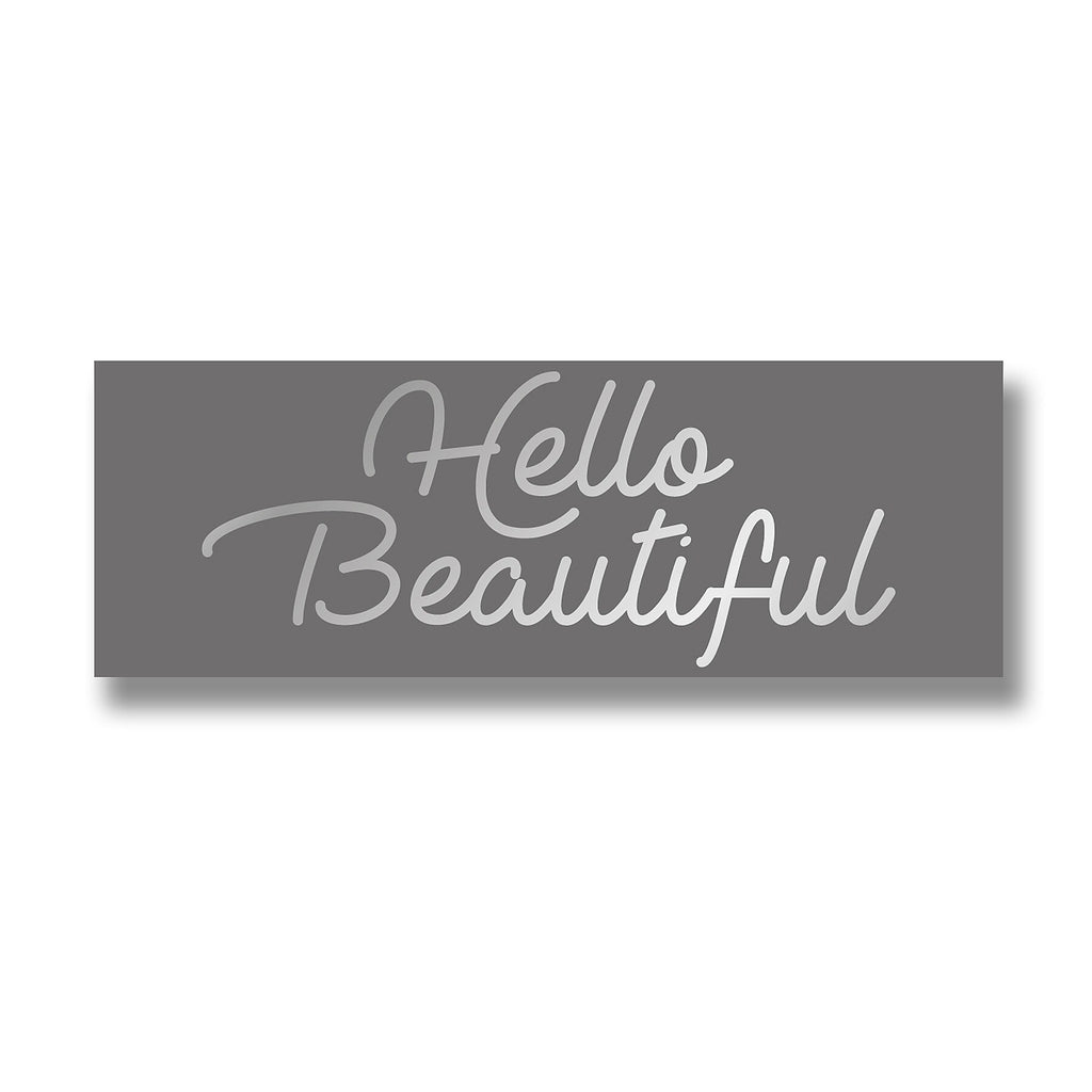 Beautiful Foil Plaques - Be Happy