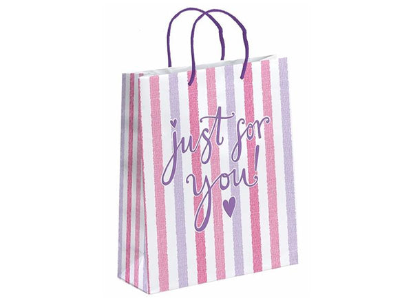 just-for-you-pink-stripe-gift-bag-large