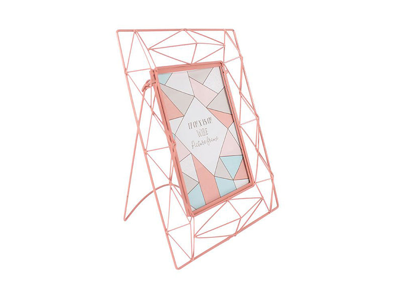 Geometric Pink Photoframe