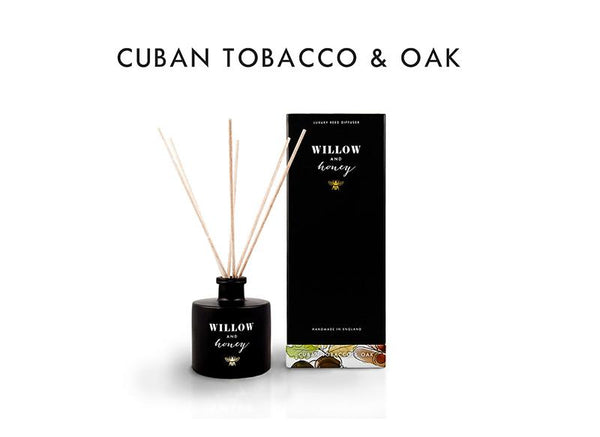 Reed Diffuser Black Cuban Tobacco and Oak