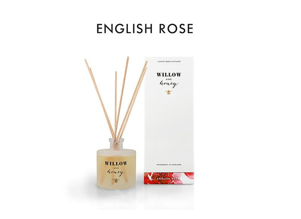 Reed Diffuser White English Rose