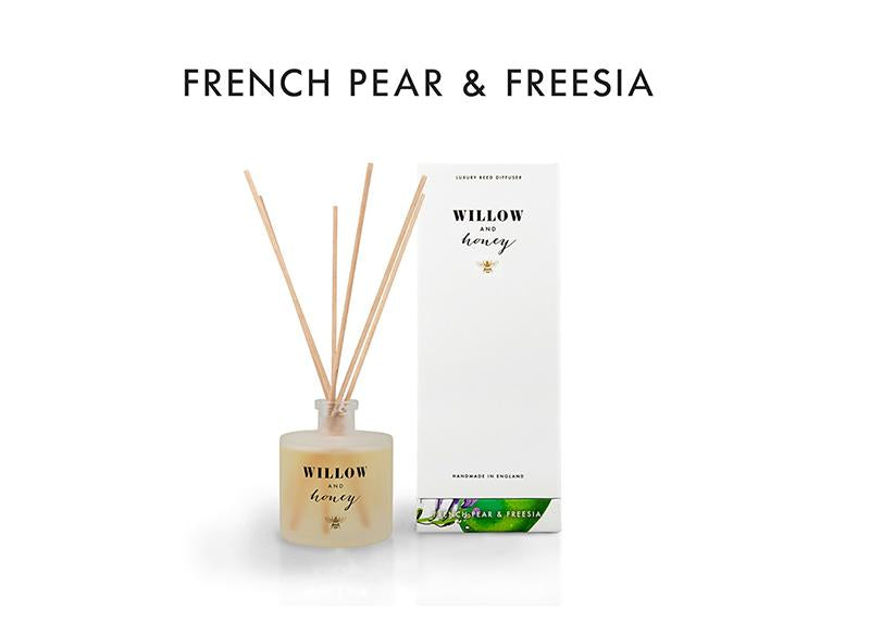Reed Diffuser White French Pear and Fressia