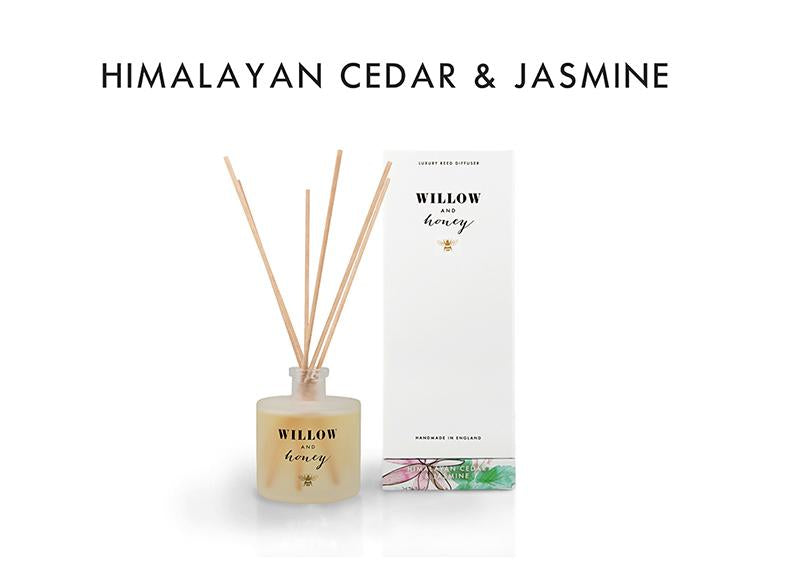 Reed Diffuser White Himalayan Cedar and Jasmine