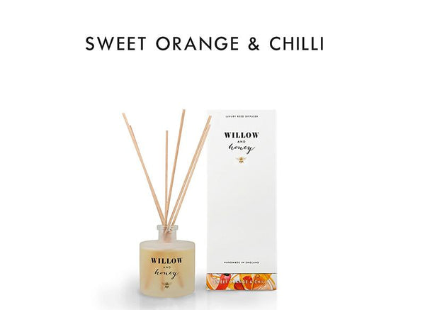 Reed Diffuser White Sweet Orange and Chilli