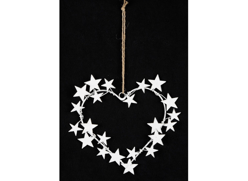 Heart Hanger With Stars