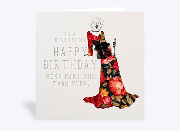 To a Dear Friend Birthday Card