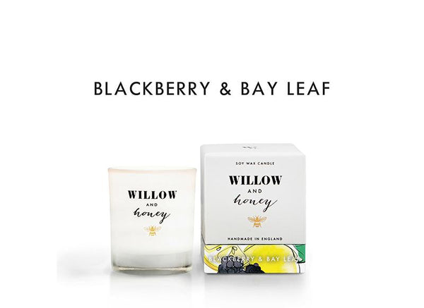 White Blackberry and Bay Leaf 60g - Mini - Candle