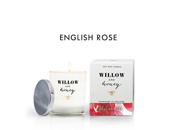 White English Rose 220g - Candle