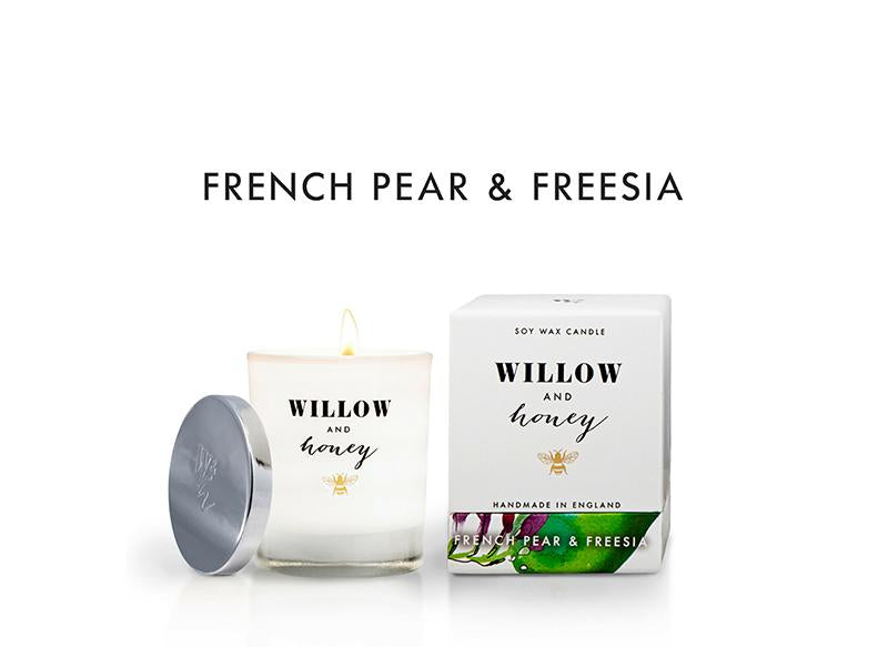 White French Pear and Freesia  220g - Candle
